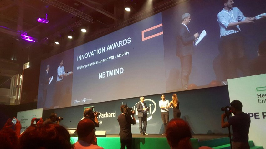 Netmind vince l'HPE Innovation Awards 2017