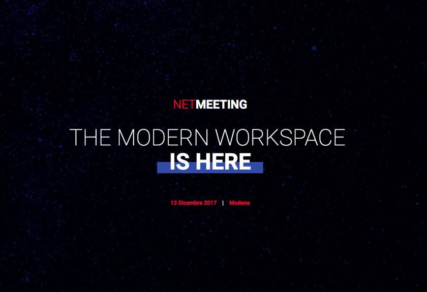 NETMEETING 2017 - The Modern Workspace is Here